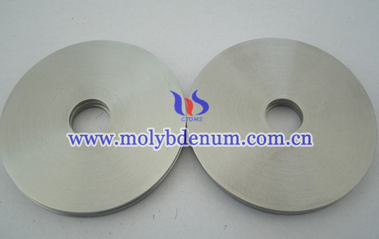 Round Molybdenum Sputtering Target Picture